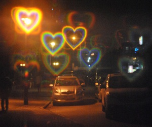 grunge, aesthetic, and hearts image