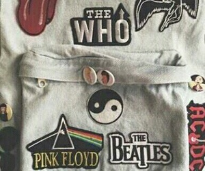 bag and Pink Floyd image