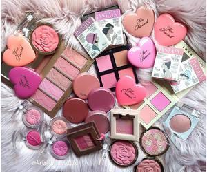 beauty, blush, and makeup image