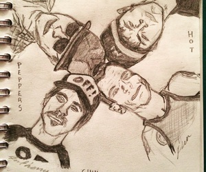 anthony kiedis, art, and drawing image