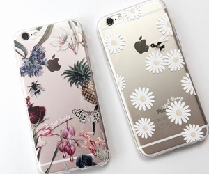 iphone, case, and flowers image