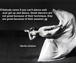 dance, Martha Graham, and passion image