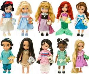 disney, doll, and princess image