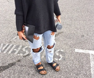 birkenstock, clothing, and cool image