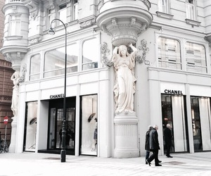 chanel, architecture, and white image