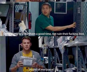 funny, 21 jump street, and channing tatum image
