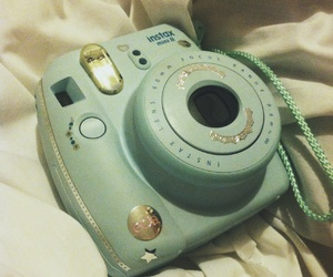beauty, stickers, and instant camera image