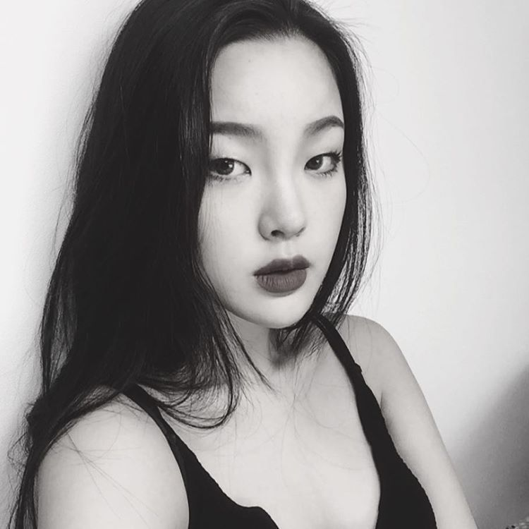 asian, beautiful, and black image