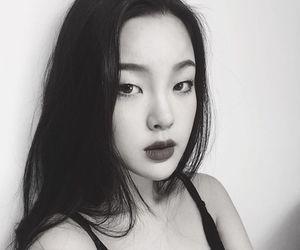 asian, beautiful, and black image