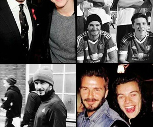 David Beckham and Harry Styles image