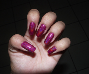 nails and pink image