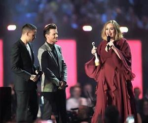Adele, liam payne, and louis tomlinson image