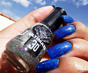 blue, nails, and 20120217 image