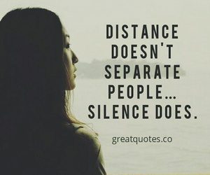 distance, picture quotes, and quotes image