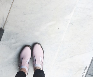 american apparel, baby pink, and doc martens image