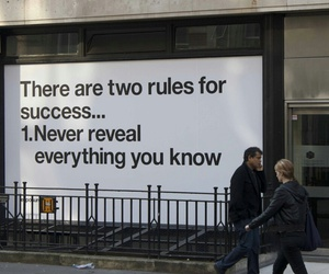 quotes, success, and rules image