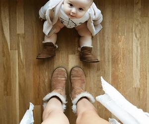 babies, boots, and family image