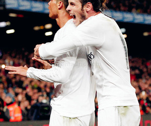 cristiano ronaldo, real madrid, and gareth bale image