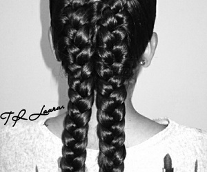 belleza, hair, and black image