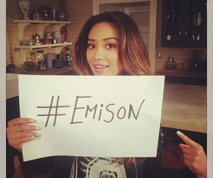 emison, shay mitchell, and pretty little liars image