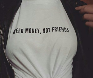 money and no friends image