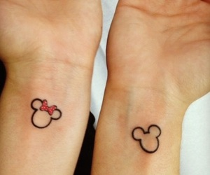 tattoo, mickey, and disney image
