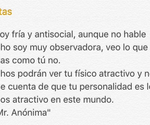 antisocial, inteligente, and sincera image