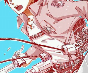 attack on titan, eren, and anime image