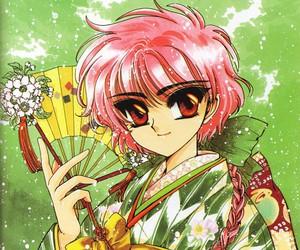 anime, pink hair, and magic knight rayearth image