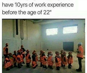 funny, experience, and kids image