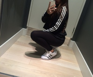 adidas, alternative, and black image