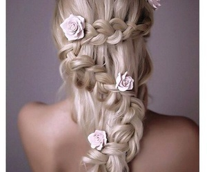 beauty, hair, and cabello image
