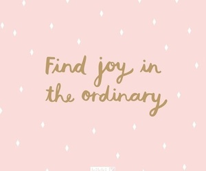 quotes, ordinary, and joy image