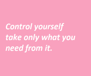control, pastel, and quote image