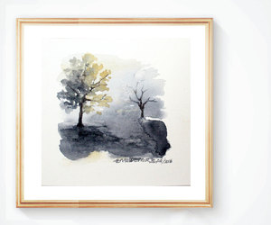 abstract, etsy, and watercolor image