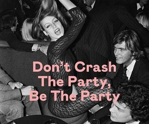 quote and party image