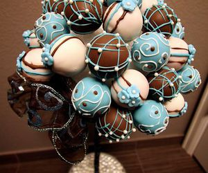 cake pops and chocolate image