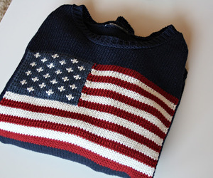 blue, us flag, and clothes image