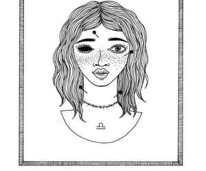 Libra, zodiac, and horoscope image