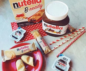 nutella and love image