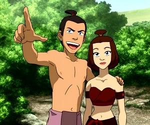 avatar, suki, and sokka image
