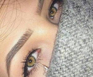 eyes, beauty, and goals image