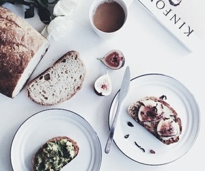 book, caffe, and bread image