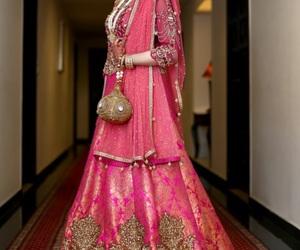 beautiful, pakistan, and wedding image