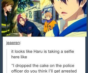 anime, free!, and haru image