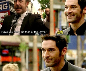 lucifer morningstar, lucifer, and tom ellis image