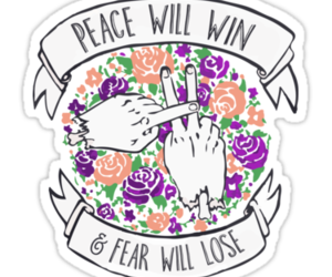 fear, peace, and twenty one pilots image