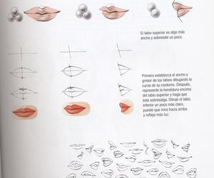draw, face, and lip image