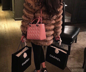 chanel, luxury, and shopping image