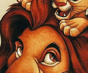 disney, lion king, and lion image